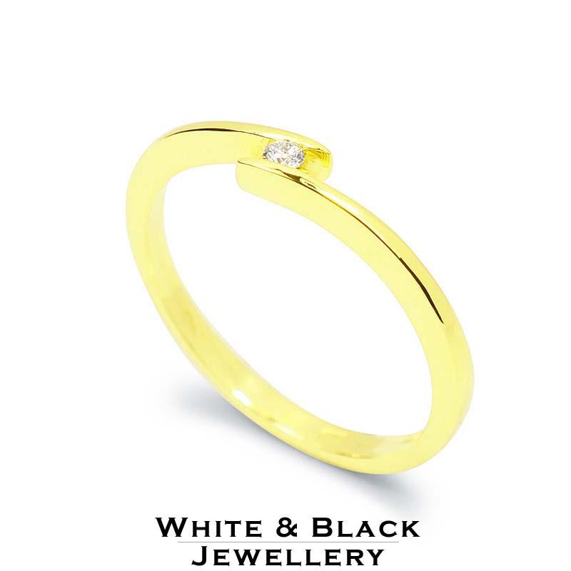 eljegyzési gyűrű arany