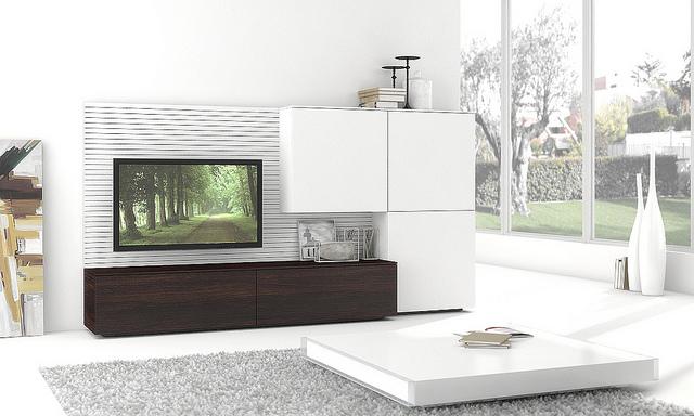 Modern nappali bútor különleges kivitelben