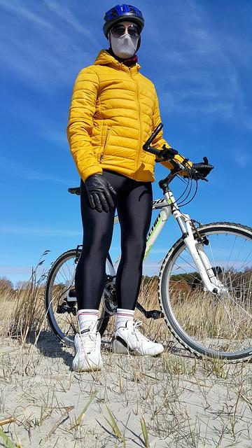 Kerékpáros maszk szmog ellen
