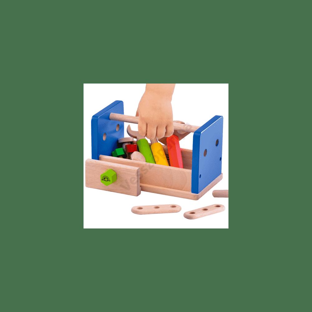 Játék szerszámkészlet a gyerek kedvence