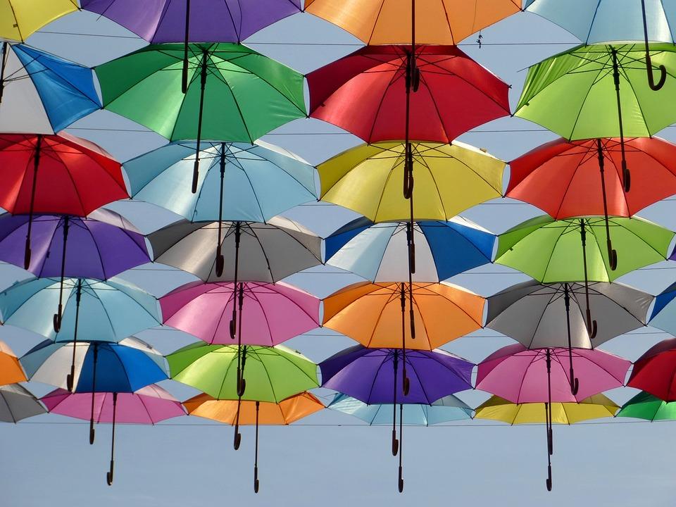 Acél szerkezetű esernyő