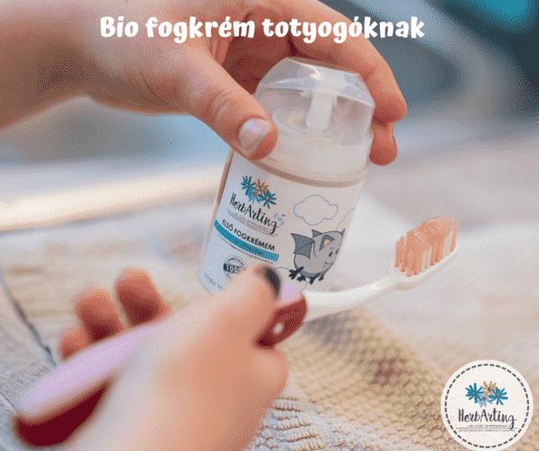 Bio fogkrém a gyengéd tisztításért